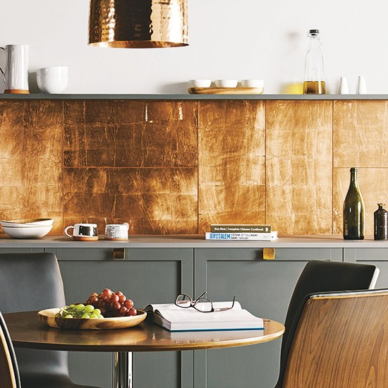 Copper splashback  Modern kitchen design essentials  10 of the best