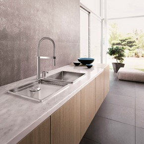 How the right taps can change your kitchen