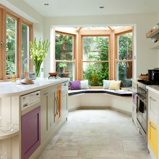 Contemporary Kitchen With Mini Conservatory 10 Smart And