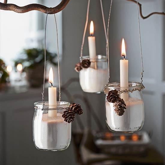 How to make jam jar hanging lanterns - Make hanging lanterns ...