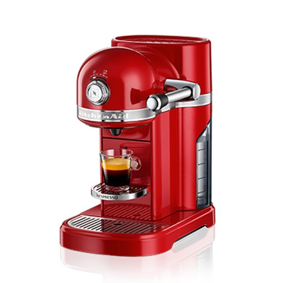 kitchenaid nespresso red kitchen accessories. Black Bedroom Furniture Sets. Home Design Ideas