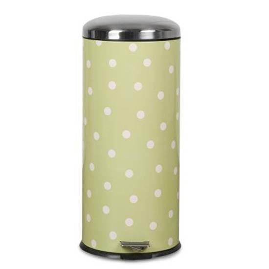 Next Polka Dot Bin Green Kitchen Accessories