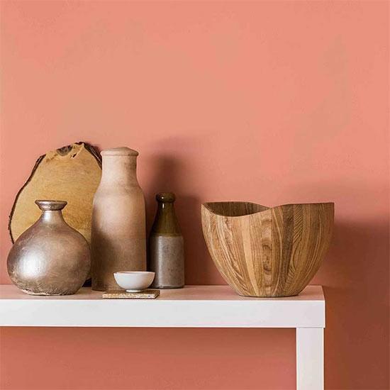 copper blush emulsion paint by dulux blush micro trend. Black Bedroom Furniture Sets. Home Design Ideas