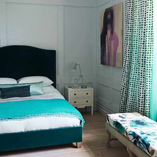 teal bedroom decorating with teal and green 10 of the best room