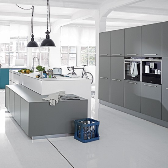 Grey Kitchens By Nolte Grey Kitchens