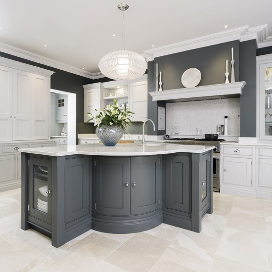 Grey kitchens for Kitchen ideas uk