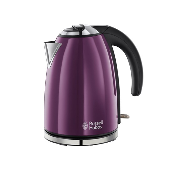Purple And Green Kitchen Accessories: Purple Kitchen Kettle From Russell Hobbs At Debenhams