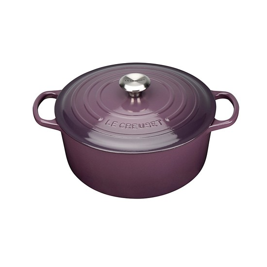 purple kitchen casserole from le creuset at john lewis