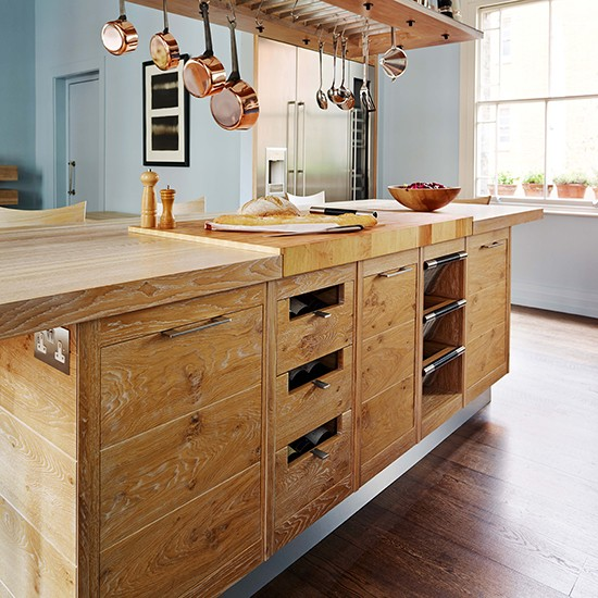 Natural Wood Kitchen Designs: Kitchen Island Ideas