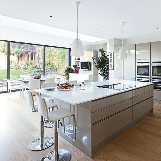Light fantastic modern kitchen extensions our pick of for Modern kitchen images