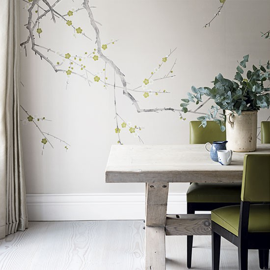 Simple floral kitchen wallpaper ideas 10 of the best for Kitchen wallpaper uk