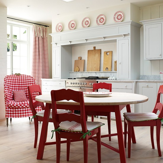 Red Kitchen Colour Ideas - Home