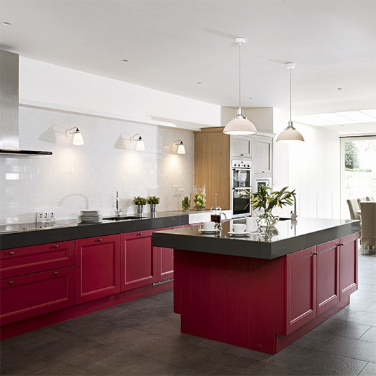 Red Kitchen Colour Ideas Home Trends