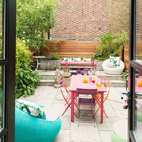 Garden Terrace Be Inspired By This Flamboyant Edwardian