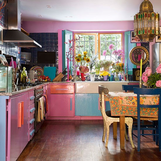Kitchen diner step inside a victorian terrace in london for Terrace kitchen diner