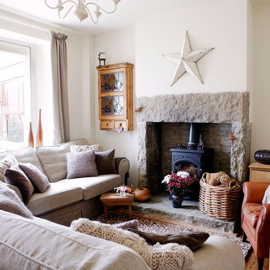 Living Room Yorkshire Cottage House Tour