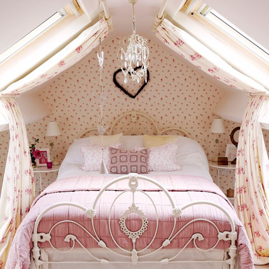 Attic Bedroom Yorkshire Cottage House Tour Housetohome