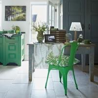 Green kitchen colour ideas