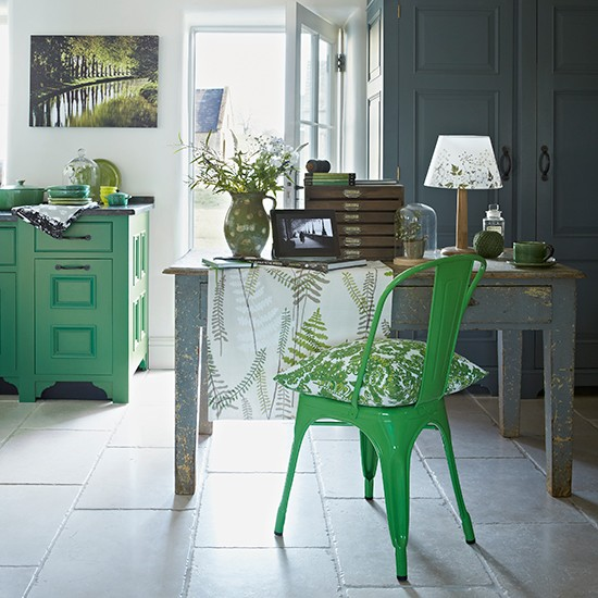 Green kitchen colour ideas | Kitchen | PHOTO GALLERY | Beautiful Kitchens | Housetohome.co.uk
