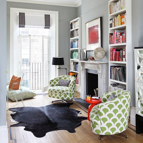 Victorian townhouse in london house tour Small victorian living room ideas