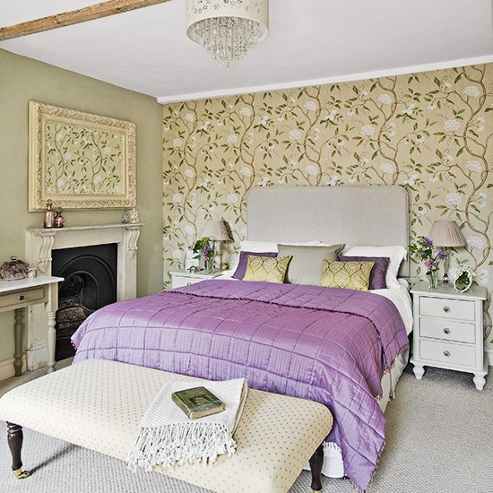 Bedroom | Country townhouse in Suffolk | House tour | PHOTO GALLERY | Country Homes & Interiors | Housetohome.co.uk
