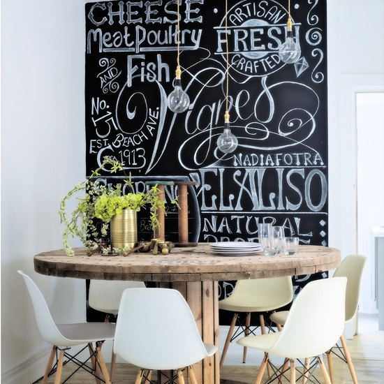 blackboard wall ideas