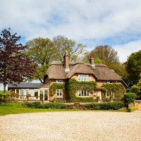 Wander through this beautiful thatched cottage in Dorset
