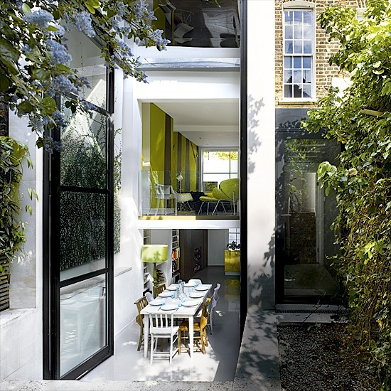 Modern garden terrace | Modern extensions | Extension ideas | PHOTO GALLERY | Housetohome.co.uk