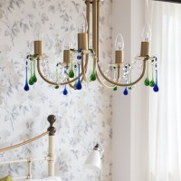 Make a beaded chandelier