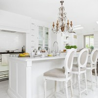 Step inside this sophisticated kitchen with Gallic charm