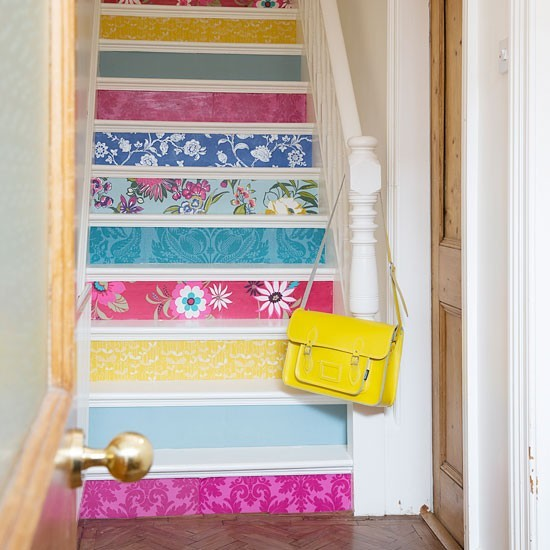 Painted stairs - Painted stairs ideas pictures ...