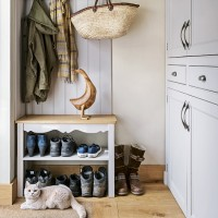 Pretty utility room with practical storage