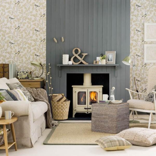cosy living room   autumn
