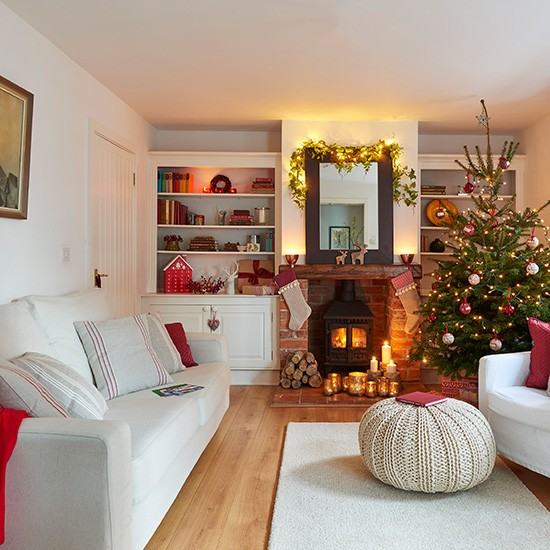 Living Room Step Inside This Festive Coach House In