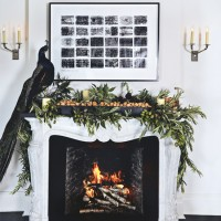 Charming pared-back Christmas decorating