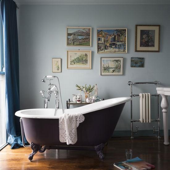 Go luxe bathroom colour schemes for Living etc bathroom ideas