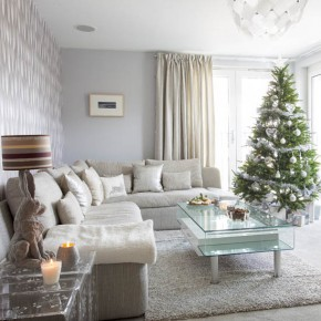 Be inspired by this festive Edinburgh townhouse