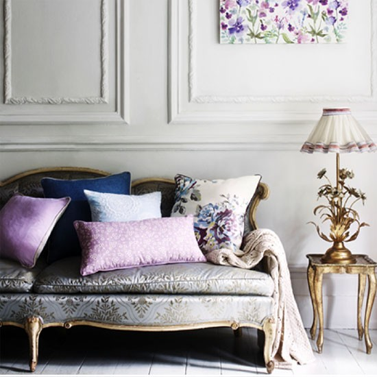 Sainsbury's Springtime bloom collection: living room