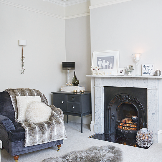 Fireplace Look Around This Beautifully Light And Neutral