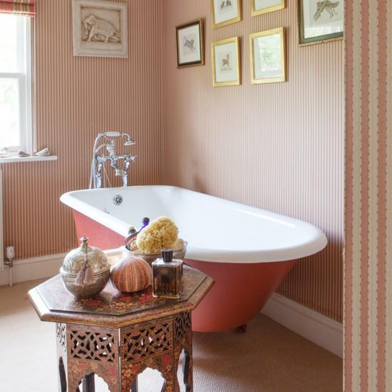 Peach bathroom bathroom colour schemes Peach bathroom