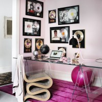 Eight dream rooms for a disco diva
