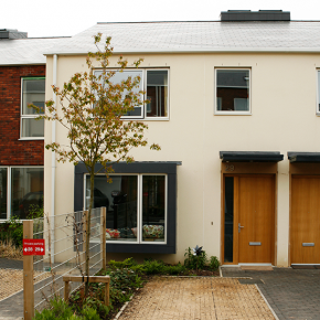 Take a look around this stylish, colourful new-build home in Stroud