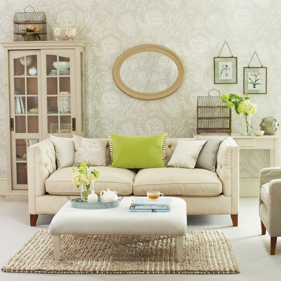 Decorating with spring colours