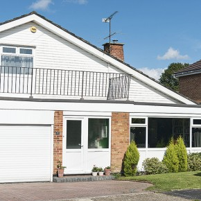 Step inside this chalet-style family home in Hampshire
