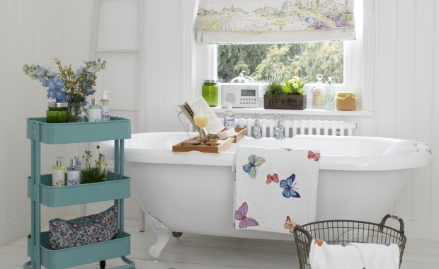 Beautiful vintage bathrooms