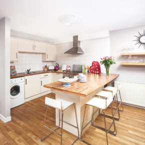 Be inspired by this modern flat in Glasgow