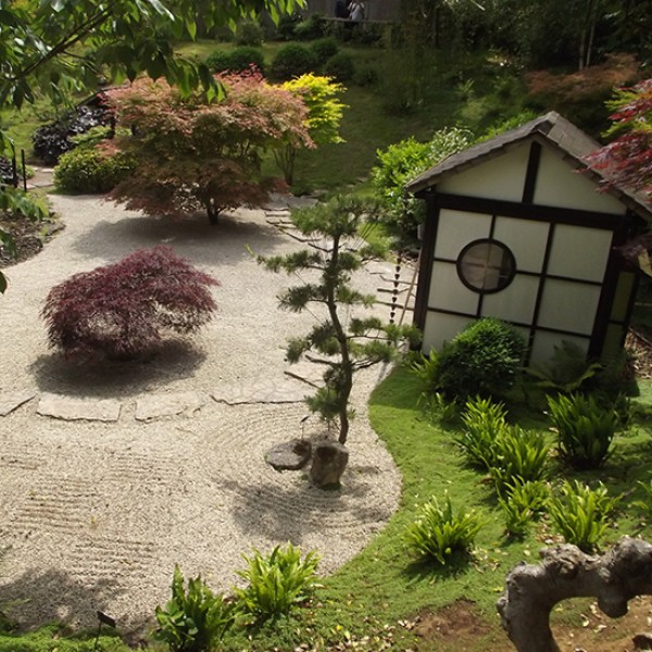 Japanese gardens for Japanese tea garden design