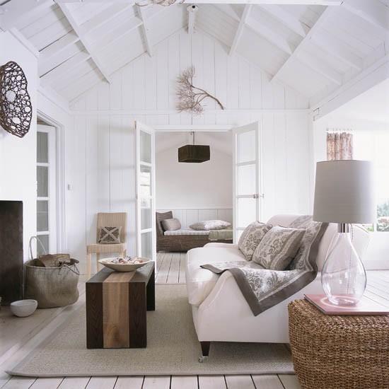 Elegant Coastal Living Room Coastal Interiors For Living Rooms