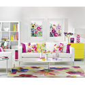Decorate with watercolour brights this summer