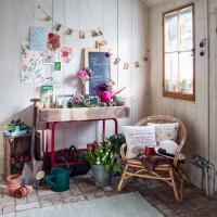 Vintage style potting shed